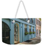 Rainbow Row Weekender Tote Bag