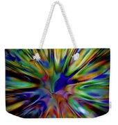 Rainbow Splash Weekender Tote Bag