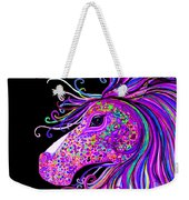 Rainbow Spotted Horse Head 2 Weekender Tote Bag