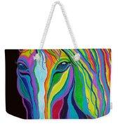 Rainbow Stallion Weekender Tote Bag