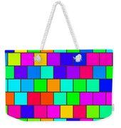 Rainbow Tiles Weekender Tote Bag