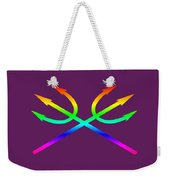 Rainbow Tridents Weekender Tote Bag