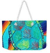 Rainbow Turtle Weekender Tote Bag