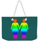 Rainbow Women Weekender Tote Bag