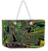 Rainbow World On A Clear Day Weekender Tote Bag