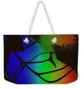 Rainbows And Stary Clouds Weekender Tote Bag