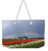 Rainbows At Tulip Festival Weekender Tote Bag
