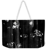 Raindrops In Slow Motion Weekender Tote Bag