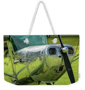 Raindrops On A Cessna - 2018 Christopher Buff, Www.aviationbuff. Weekender Tote Bag
