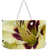 Raindrops On A Petal Weekender Tote Bag