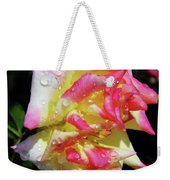 Raindrops On A Rose Weekender Tote Bag