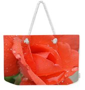 Raindrops On Roses Weekender Tote Bag