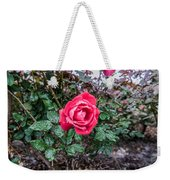 Raindrops On The Leaves Weekender Tote Bag