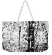 Rainforest Abstract Weekender Tote Bag