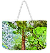 Rainforest Green Weekender Tote Bag