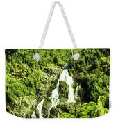 Rainforest Rapids Weekender Tote Bag