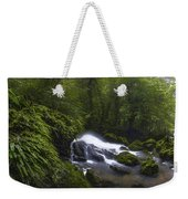 Rainforest Riverflow Scene Weekender Tote Bag