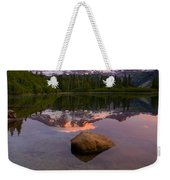 Rainier Dawn Breaking Weekender Tote Bag