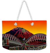Rainier Over Qwest Field Weekender Tote Bag