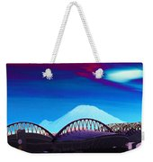 Rainier Over Sodo Weekender Tote Bag
