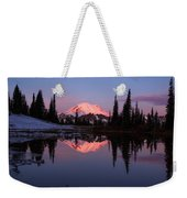 Rainier Sunrise Weekender Tote Bag