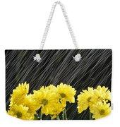Raining On Yellow Daisies Weekender Tote Bag
