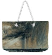 Rainstorm Over The Sea Weekender Tote Bag by John Constable
