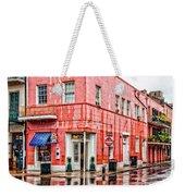 Rainy Corner Weekender Tote Bag