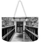 Rainy Day At Crystal Bridges Weekender Tote Bag