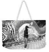 Rainy Day At The Wat Phra That Temple Weekender Tote Bag