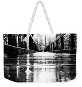 Take A Walk With Me In The Rain Weekender Tote Bag