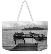 Rainy Day Dock Weekender Tote Bag