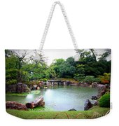 Rainy Day In Kyoto Palace Garden Weekender Tote Bag
