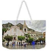 Rainy Day In Taormina 2 Weekender Tote Bag