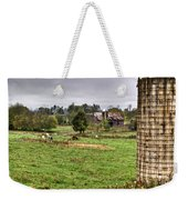 Rainy Day On The Farm Weekender Tote Bag