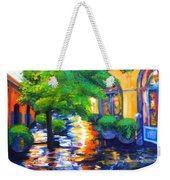 Rainy Dutch Alley Weekender Tote Bag