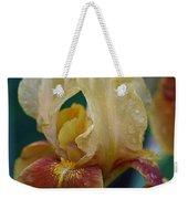Rainy Iris Weekender Tote Bag