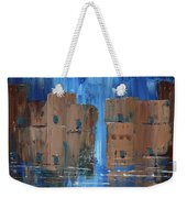 Rainy Night At The Pueblo Weekender Tote Bag