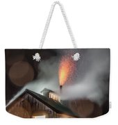 Rainy Night At The Sugarhouse Weekender Tote Bag