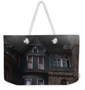 Rainy Night House Weekender Tote Bag