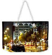 Rainy Night In Green Bay Weekender Tote Bag