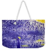 Rainy Night Weekender Tote Bag