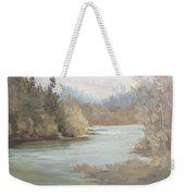 Rainy River Weekender Tote Bag