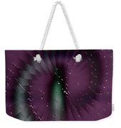 Rainy Window Weekender Tote Bag