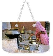 Rajasthani Woman Weekender Tote Bag