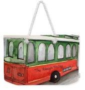 Raleigh Trolley Weekender Tote Bag