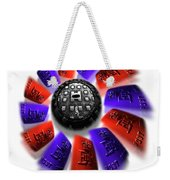 Rally Round The Flag Weekender Tote Bag