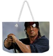 Rambo Sylvester Stallone Weekender Tote Bag