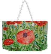 Ramonas Poppies Weekender Tote Bag