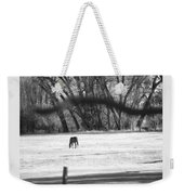 Ranch Horse In The Fields Weekender Tote Bag